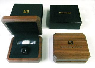Walnut case of XV-1t MC Cartridge