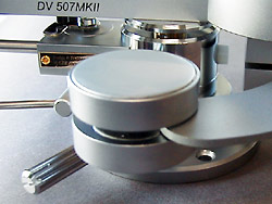 the eddy current dynamic damping of Tonearm DV-507mk2