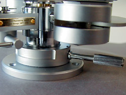 height adjusting lever of Tonearm DV-507mk2